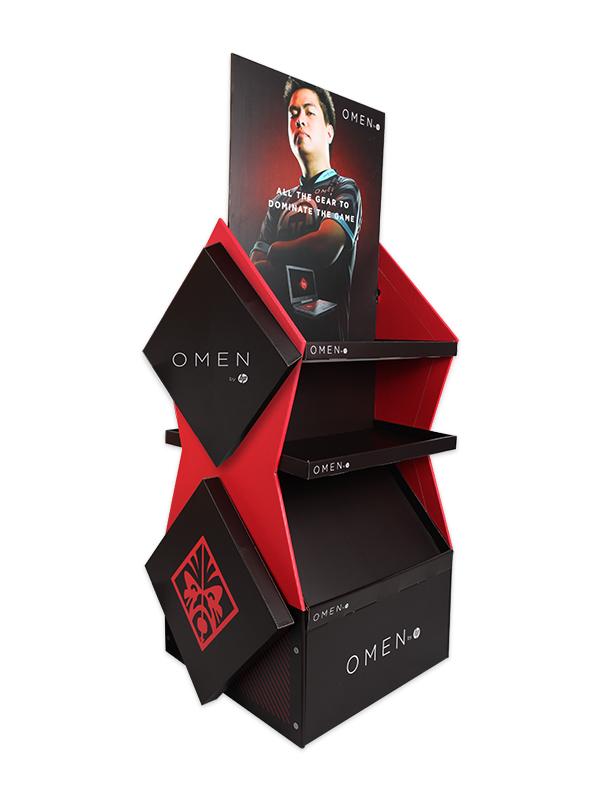 2 Side FSDU Carton Display