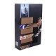 Cardboard Foldable POP Sidekick Display with Tier