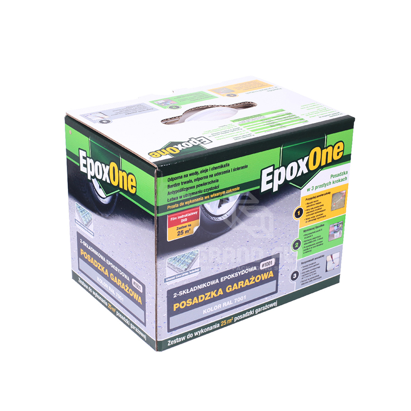 Cardboard Packaging Box with Plastic Handle-1