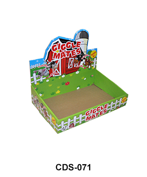 Cardboard Shelf Ready Packaging Display Box for Toy