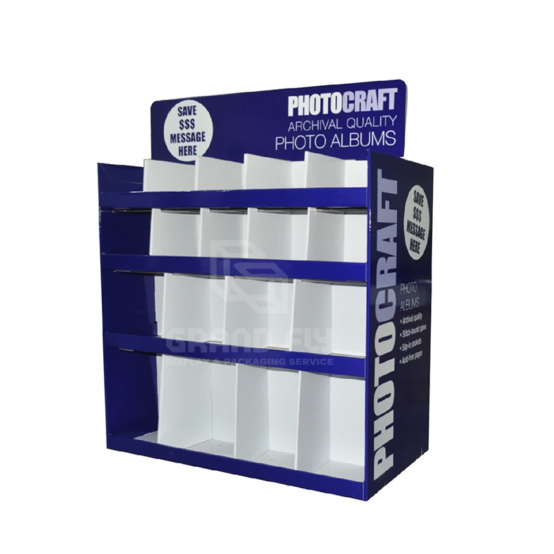 Carodbaord Two Side Pallet Display with Divider-1