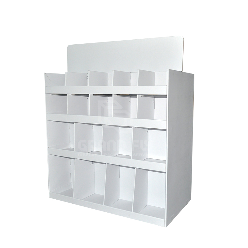 Carodbaord Two Side Pallet Display with Divider-5
