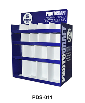 Carodbaord Two Side Pallet Display with Divider