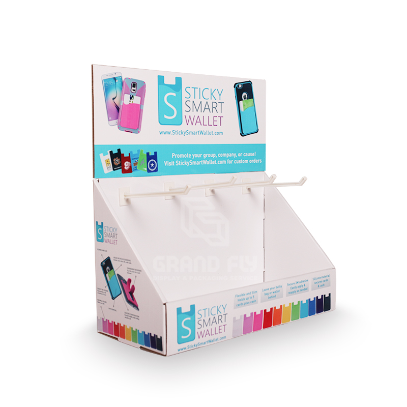 Countertop Display with Peg Hook for Mobile Accessories-1