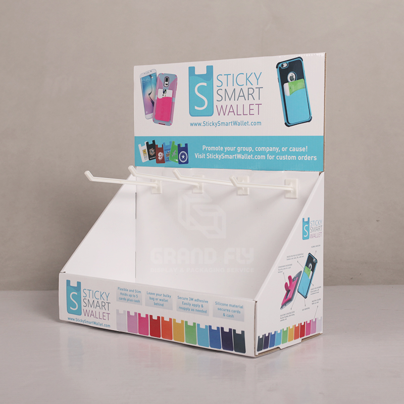 Countertop Display with Peg Hook for Mobile Accessories-3