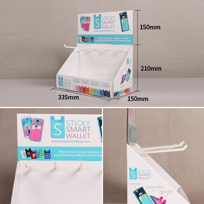 Countertop Display with Peg Hook for Mobile Accessories-4