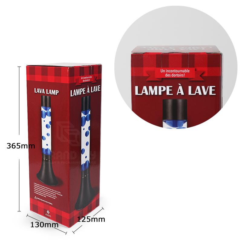 Custom Cardboard Lamp Packaging Boxes-4