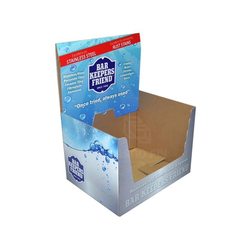 Custom Printed Cardboard Shelf Ready Box-1