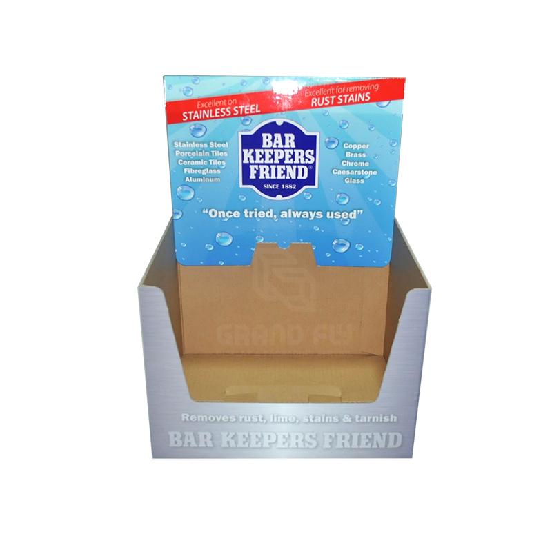 Custom Printed Cardboard Shelf Ready Box-2