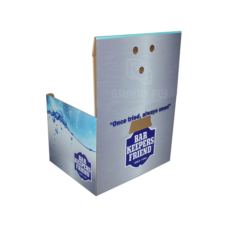 Custom Printed Cardboard Shelf Ready Box-3