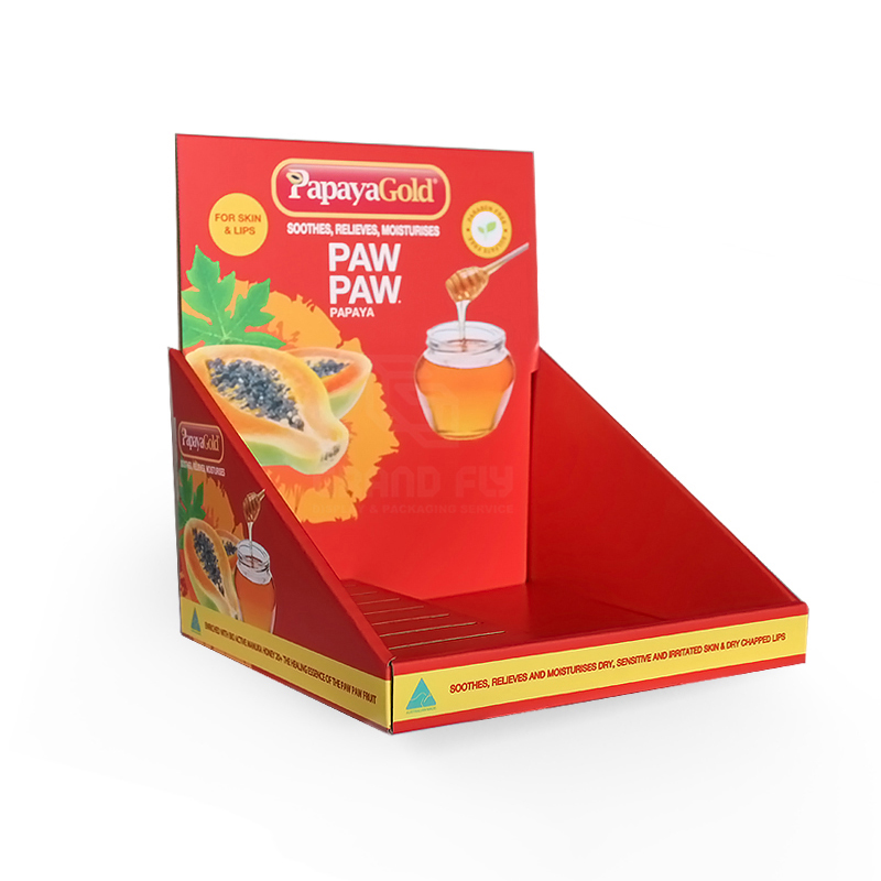 Custom Printed PDQ Couter Display Tray-1