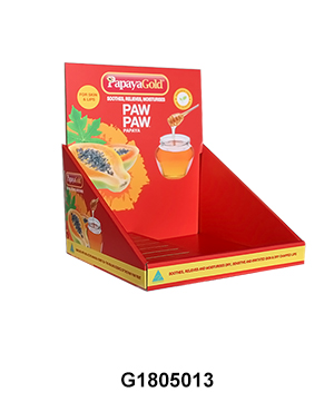 Custom Printed PDQ Couter Display Tray