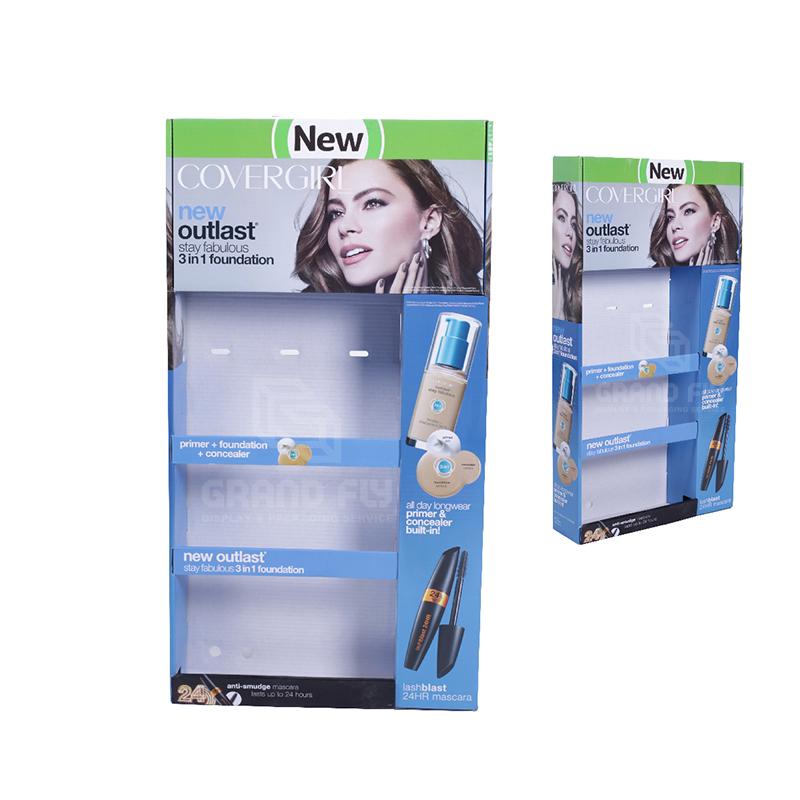 Custom Printed Sidekick Display for Cosmetics-2