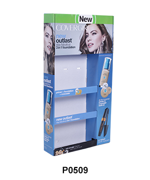 Custom Printed Sidekick Display for Cosmetics