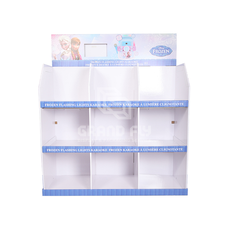 Custom Temporary Corrugated Full Pallet Display for Toy-2