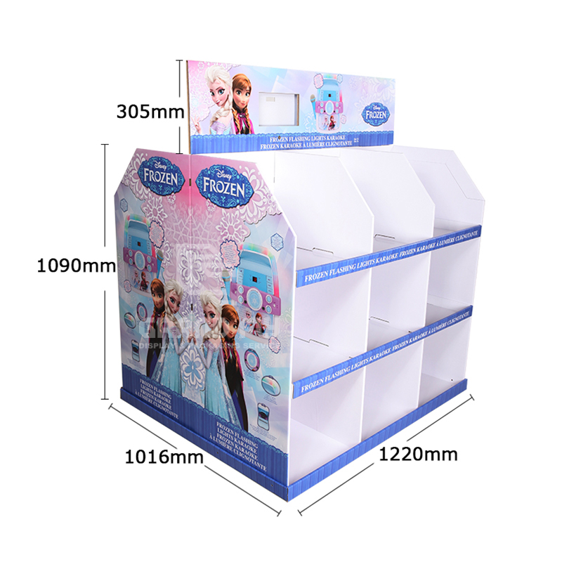 Custom Temporary Corrugated Full Pallet Display for Toy-4