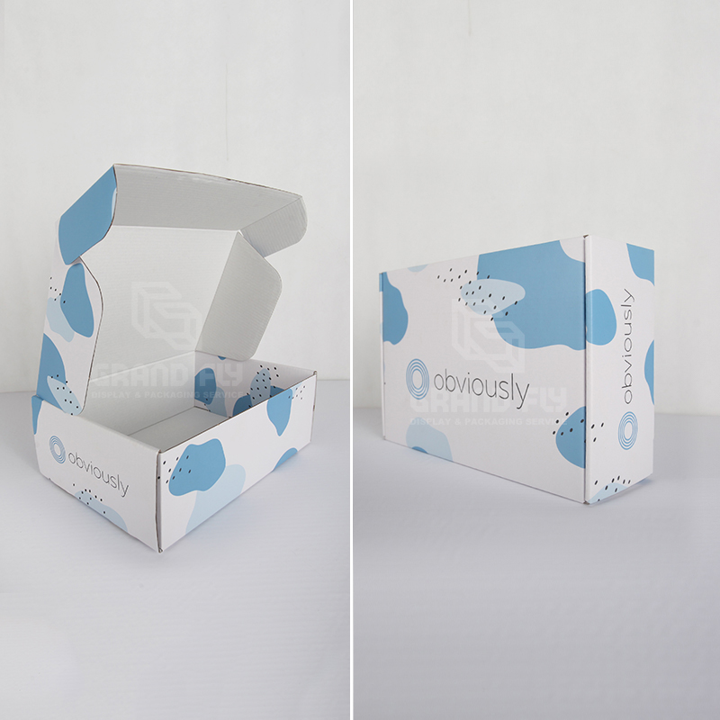 Foldable Custom Printed Corrugated Mailer Shipping Box-2