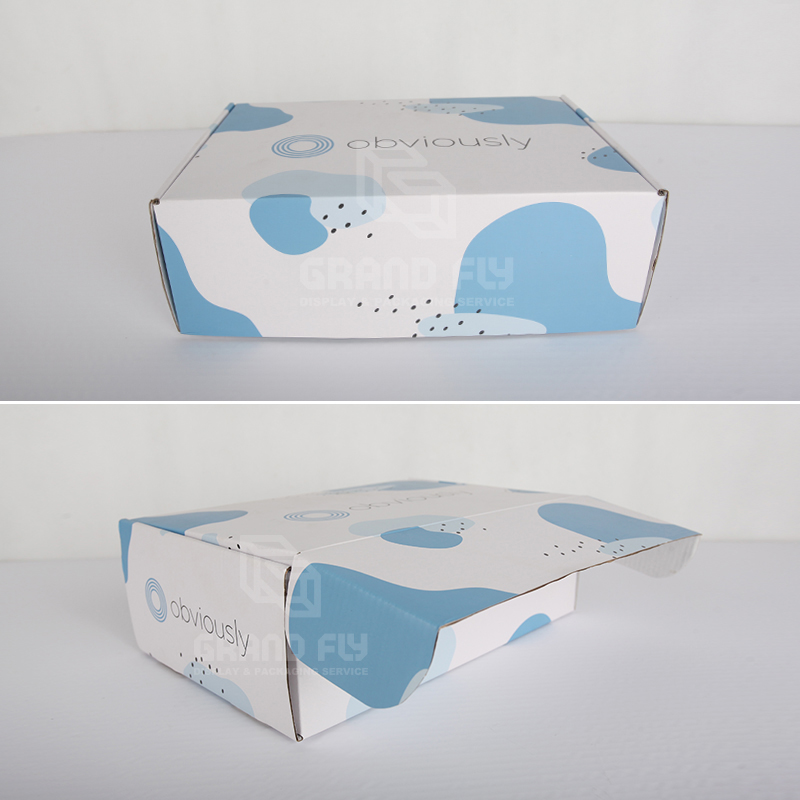 Foldable Custom Printed Corrugated Mailer Shipping Box-3
