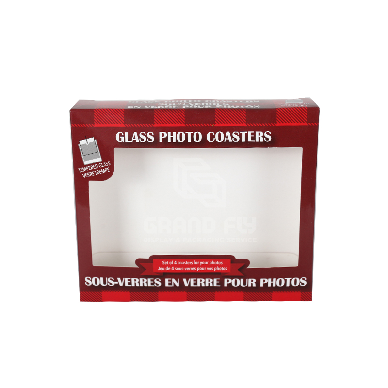 Products Packaging Box with PVC window-2