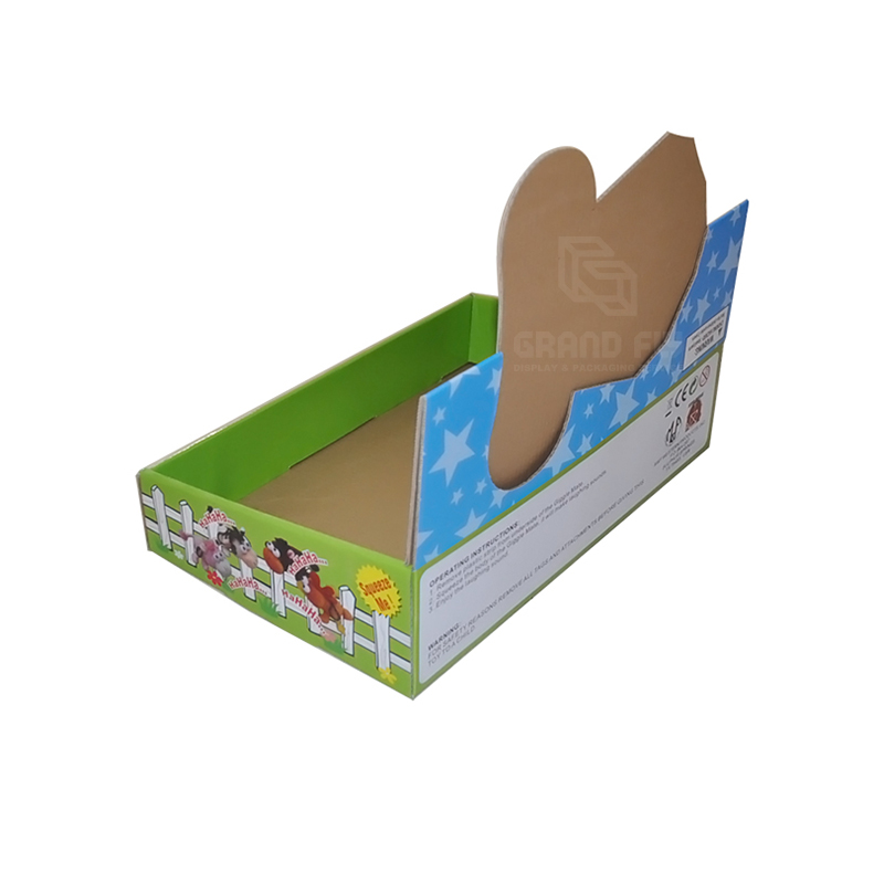 Shelf Ready Packaging Display Box for Toy-2