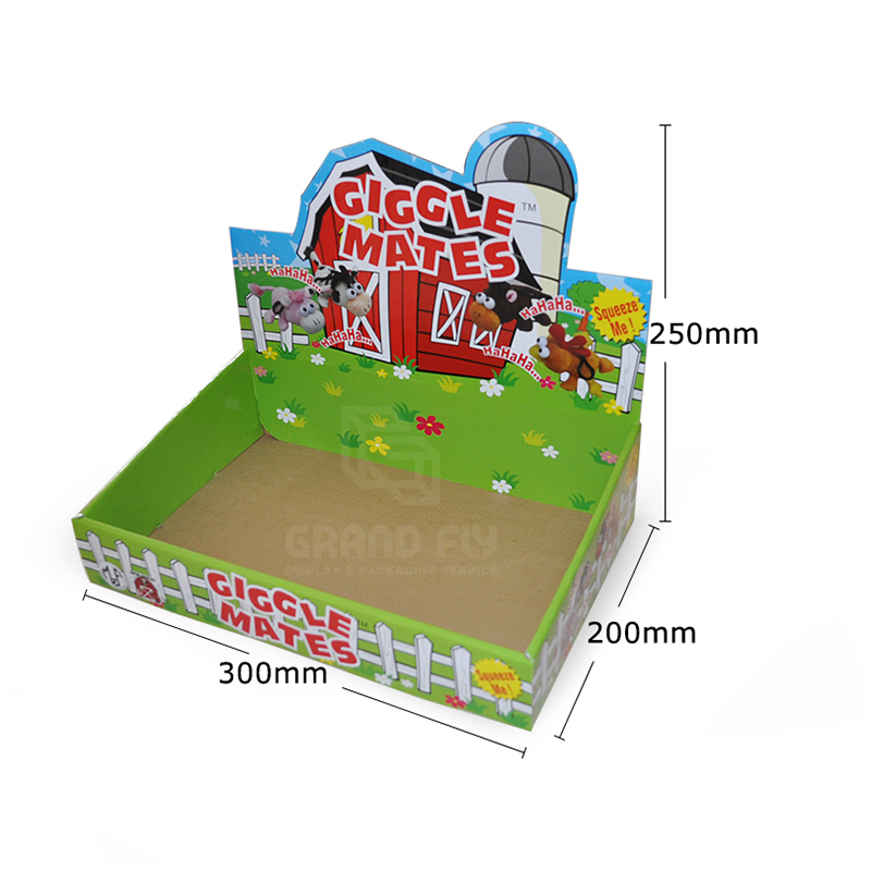 Shelf Ready Packaging Display Box for Toy-4