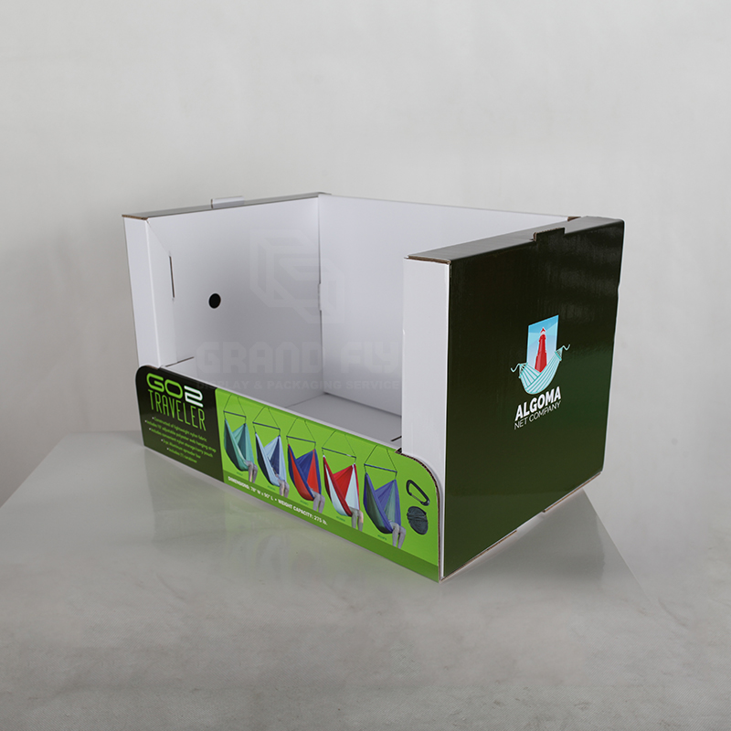 Stable Corrugated Cardboard Stackable Display-4