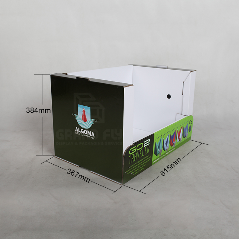 Stable Corrugated Cardboard Stackable Display-7