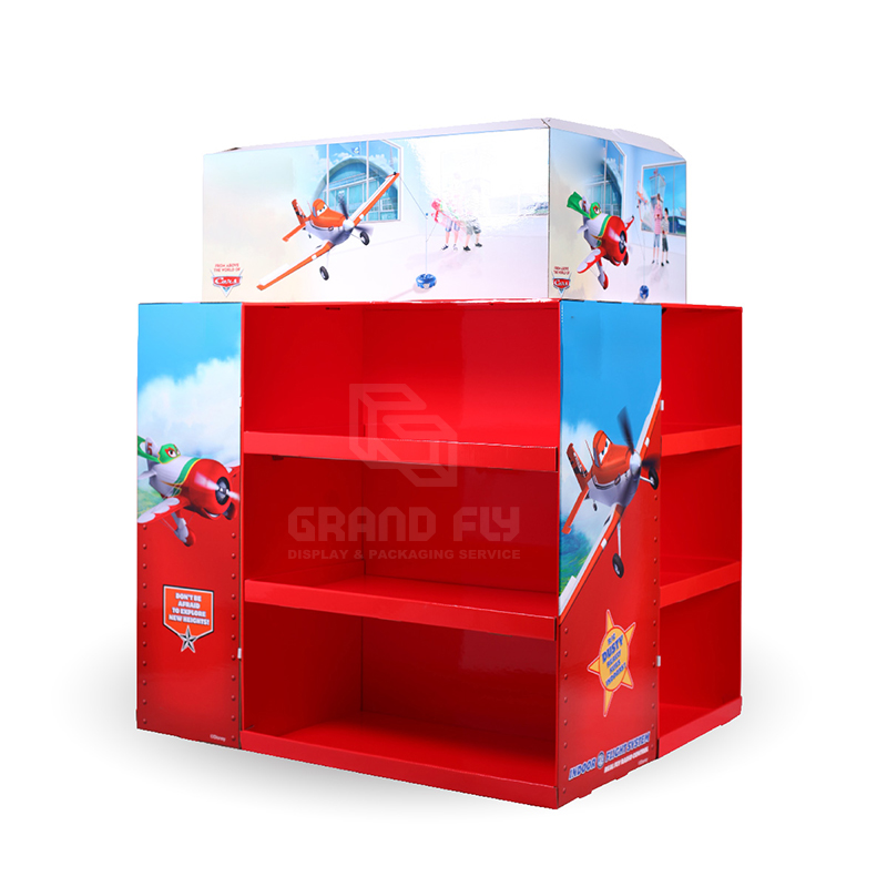 Walmart Cardboard Full Pallet Display Stand for Toy-1