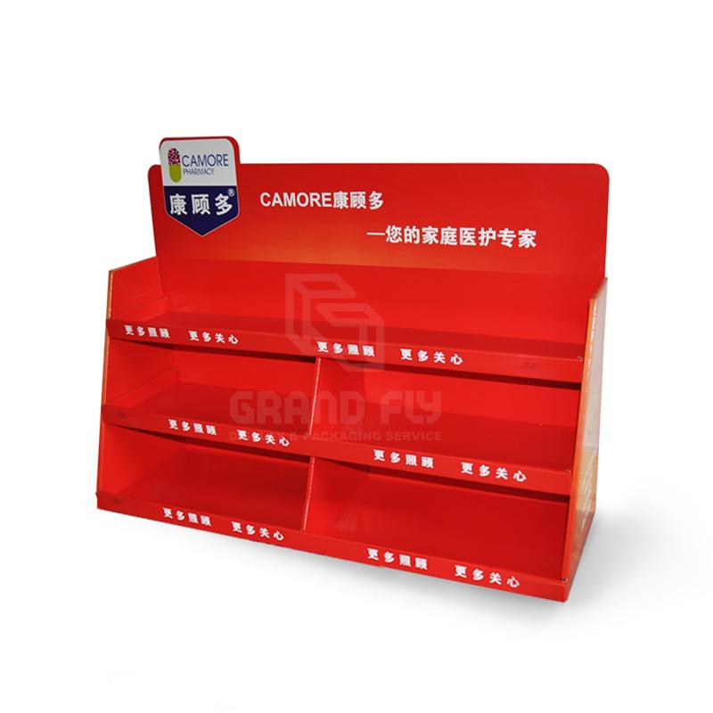 Custom Carton POS Pocket Shelf Counter Display Unit-02