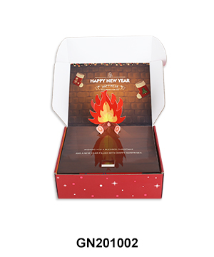 Custom PopUp Campfire Mailler Shipping Box