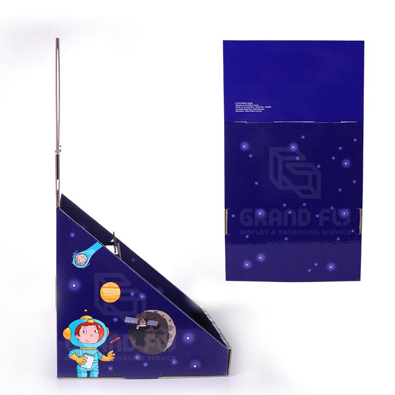 Custom Printed 2 Tier Cardboard CDU Display Box for Book-3