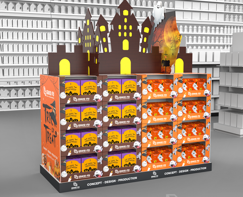 Halloween Full Pallet Display