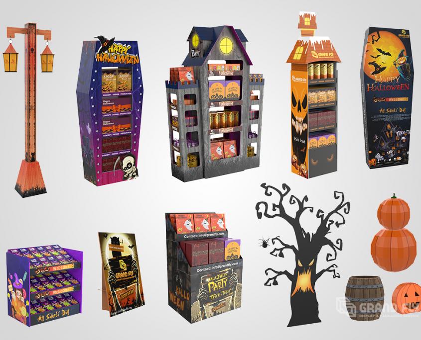Halloween POS Concept Design