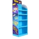 Cardboard POP Retail Floor Shelf Display for Crayon/Stationery