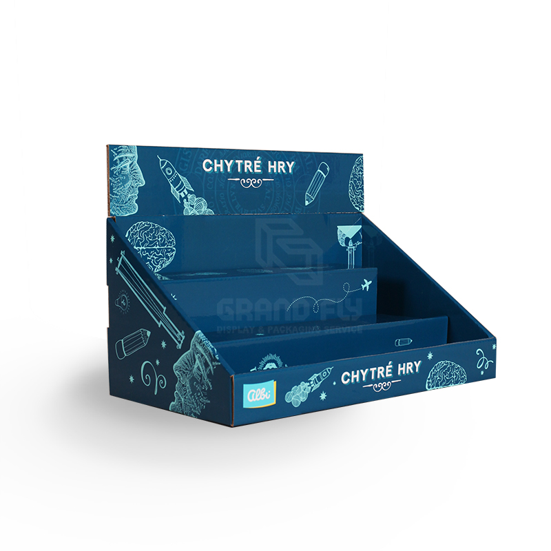 Back To School Retail Point of Sale Cardboard CDU-02