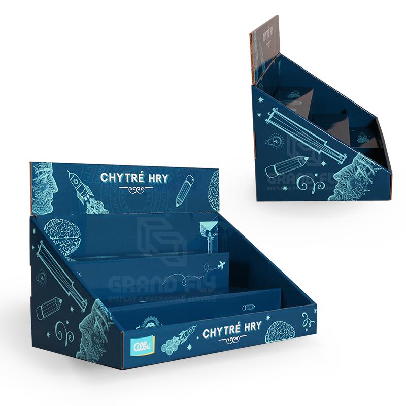 Back To School Retail Point of Sale Cardboard CDU-04