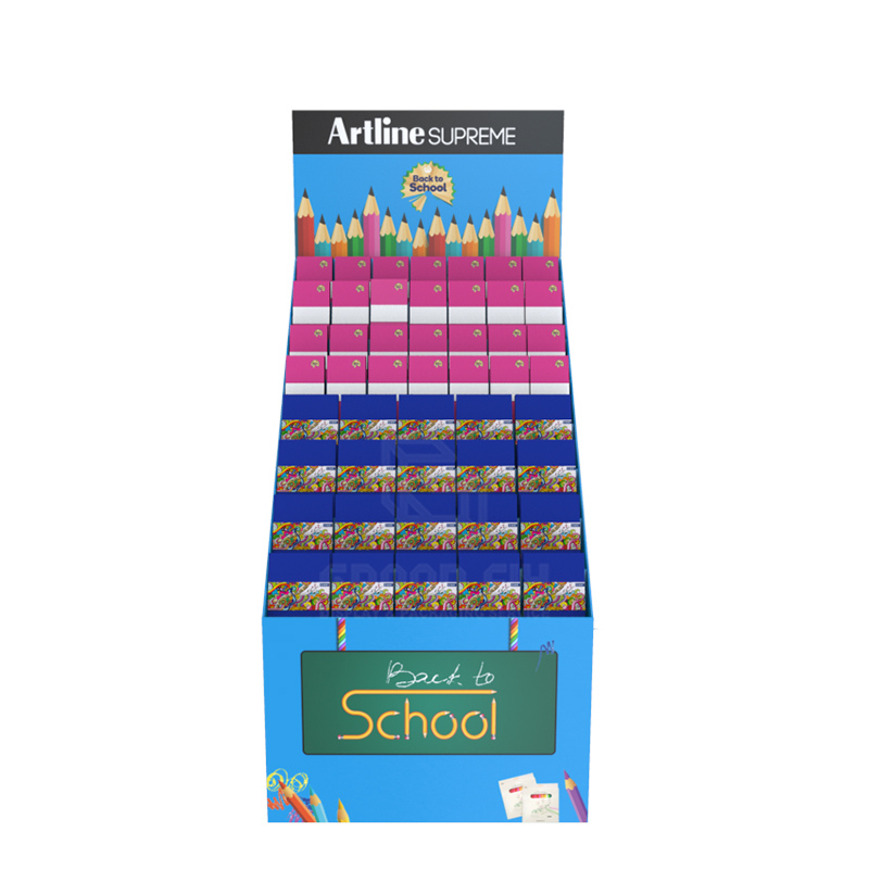 Back to School Temporary POS Display Rack for Notebook-2
