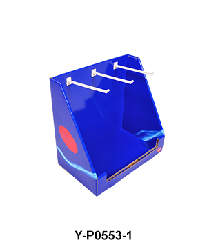 Foldable Sock SRT Counter Display Box with Hook