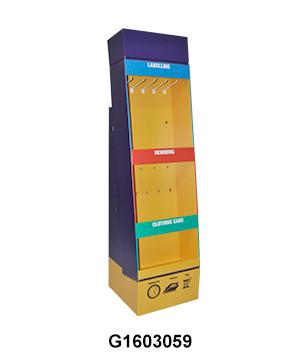 Pen & Pencil Powerwing Carton Display Shipper with Peg Hook