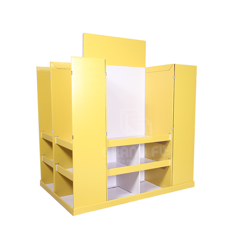 4-Sides BTS Corrugated Full Pallet Display for Stationery-1