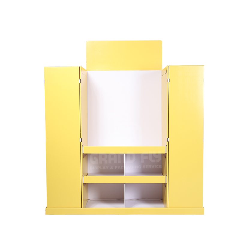 4-Sides BTS Corrugated Full Pallet Display for Stationery-2