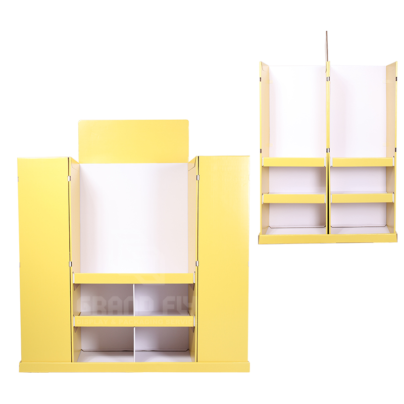 4-Sides BTS Corrugated Full Pallet Display for Stationery-3