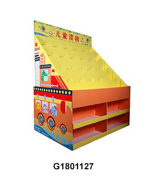 Cardboard Walmart ½ Pallet Display for Kid's Book