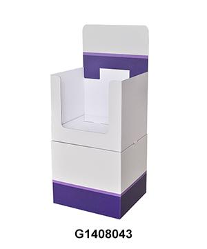 Coffee POS Carton Floor Shipper Display Dump Bin