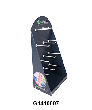 Counter Display with Peg Hook for Mobile Accessories