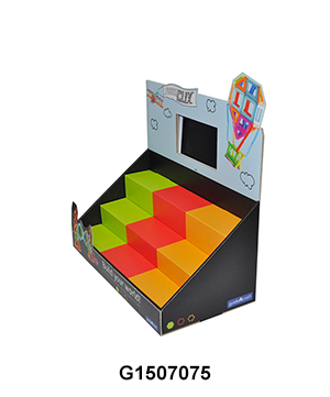 Custom Design Toy PDQ Cardboard Display Box with LCD