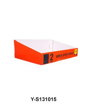 Custom Printed Shelf Ready POS Carton Display Tray Box