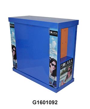 Custom Walgreens Cardboard Pallet Display for Sunglasses