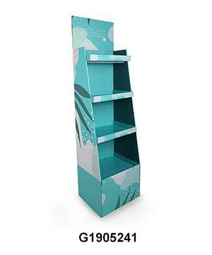 Cardboard Merchandise POP Display Unit for Water Bottle