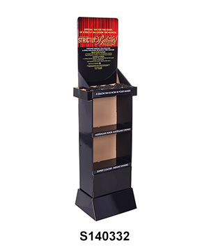 Custom Corrugated Display Shelves for Skin Care Product
